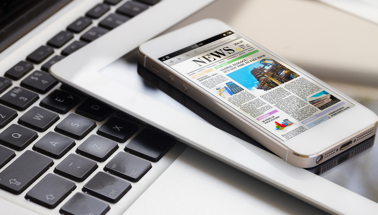 Latest News on tablet, iphone and laptop